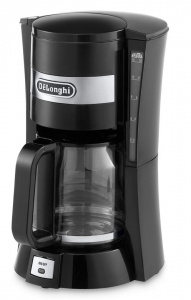 Delonghi ICM15210.1 Filter Coffee Maker in Black - 900W