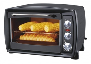 Orca Electric Oven - 1500 Watt - Black - OR-HK-20L