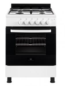 White Westinghouse 4 Burner Gas Cooker - White - WNGJ60JGUW