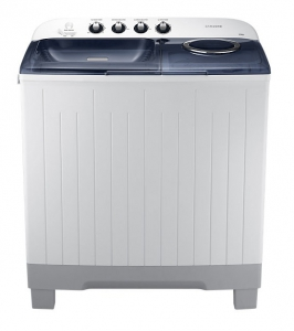 Samsung Washer Twin Turbo - White  - WT12J4200MB