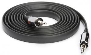 Griffin AUX Flat Cable 6Ft. - Black