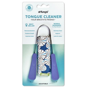 Dr. Tung's Tongue Cleaner - Stainless Steel