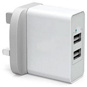 Devia UK Wall Charger & Android Cable - 3.1A