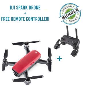 DJI Spark Quadcopter - Red