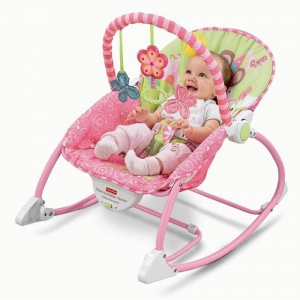 Fisher-Price Infant to Toddler Rocker Princess Mouse