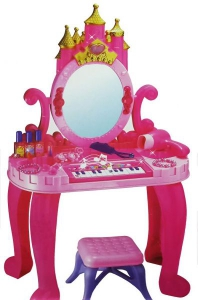 Jessie's House - Children Piano & Vanity Castle Dressing Table