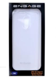 Engage Nokia 6.1 TPU Transparent + Tempered Glass Screen