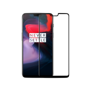OnePlus 6 3D Tempered Glass Screen Protector - Black