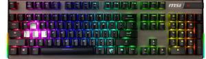 MSI Vigor GK80 Keyboard CR US