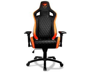 Cougar Armor S Gaming Chair - Black & Orange