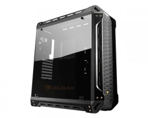 Cougar Panzer-S Black ATX Mid Tower Transparent Fortress Computer Case