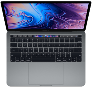 Apple 13-inch MacBook Pro with Touch Bar 2.3GHz quad-core i5 8GB 512GB  - Space Grey