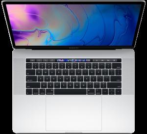 Apple 15-inch MacBook Pro Touch Bar 2.2GHz 6-core i7 16GB 256GB R555X 4GB - Silver
