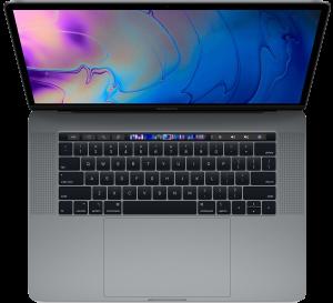 Apple 15-inch MacBook Pro Touch Bar 2.2GHz 6-core i7 16GB 256GB R555X 4GB - Space Grey