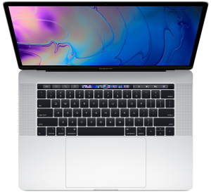 Apple 15-inch MacBook Pro Touch Bar 2.6GHz 6-core i7 16GB 512GB R560X 4GB - Silver