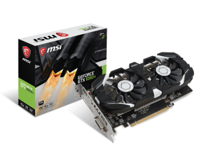 MSI GTX1050 Ti4GT - OCV1 Graphic Card