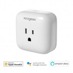 Koogeek Wi-Fi Enabled Smart Plug (Wall Adapter)