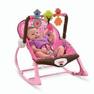 Fisher Price Toddler Rocker Reclining Deep Cradle Seat Feeding Baby Chair