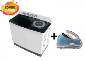 Media Washing Machine Twin Tub - 16Kg/9Kg + Panasonic Steam Iron - 1600W