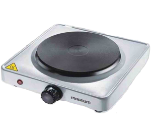 Magnum Portable Solid Disc Hot Plate - Stainless-Steel