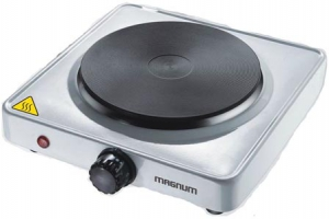 Magnum Portable Solid Disc Hot Plate - Stainless Steel