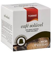Torrie Soluble Coffee Capsules