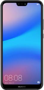 Huawei Nova 3E Dual SIM - 64GB, 4GB RAM, 4G LTE - Black