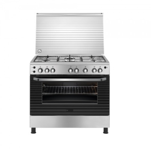 White Westinghouse 90X60 Gas Cooker Steel - WNGB90JGRX