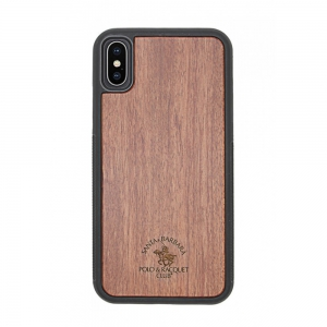 Santa Barara Polo and Racquet Timber Back Cover for iPhone X - RSW