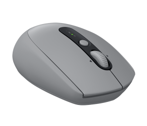 Logitech - Multi-device Silent Wireless Mouse - Mid Grey Tonal - M590