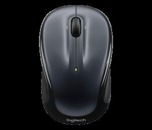 Logitech Wireless Mouse  Dark Silver - M325