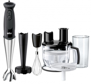 Braun - MQ5177 Buffet H-Blender Black