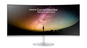 "Samsung 34"" Curved Monitor 3440 X 1440 Resolution With Quantum Dot Technology - Lc34f791wqmxue"