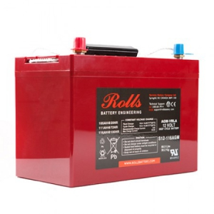 Rolls - Rolls AGM Battery 12V-116Ah