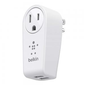 Belkin Boost Up 2-Port Swivel Charger+Outlet (2 USB Port)