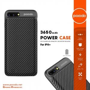 Porodo Power Case 3650mAh for iPhone 8 Plus / 7 Plus