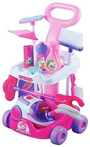 Quickdraw Pink For Girls Cleaning Game Set