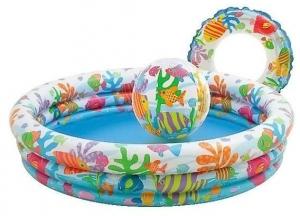 Intex Swimming Pool For Children Fishbowl - Multicolor