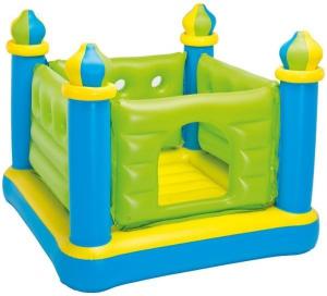 Intex Junior Jump-O-Lene Inflatable Castle Bouncer - Green