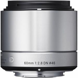 Sigma Lens 60mm F2.8 DN F/MFT Silver