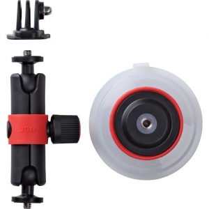 Joby Suction Cup & Locking Arm Blk/red