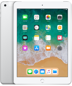 Apple iPad 9.7-inch Wi-Fi + Cellular 32GB Silver 2018