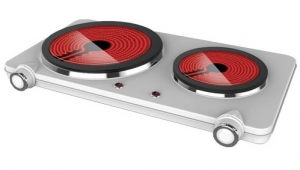 Orca - double Hot Plate-Ceramic- 2500W(Stainless Steel) - HP202-T10