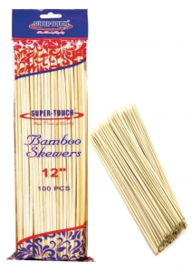 Super-Touch Bamboo Looped Up Skewers 12""