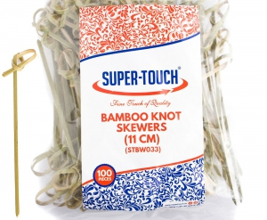 Super-Touch Bamboo Knot Skewers