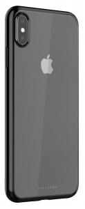 Viva Madrid TPU Back Case Protection For iPhone XS Max - Jet Black