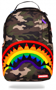 Sprayground - Rainbow Chenile Shark Mouth - SP-SC006