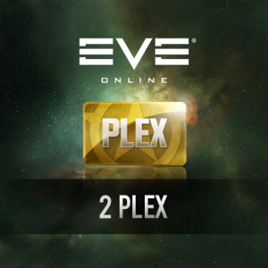 EVE Online 2 Plex Virtual Card