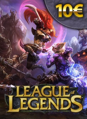 League Of Legends EU €10 Virtual Gaming Card