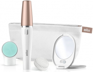 Braun face spa SE851 V (Velvet edition W/lighted mirror & beauty pouch)  - SE851V